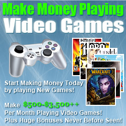 Make Money Testing Games